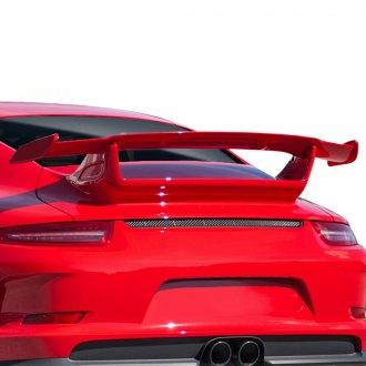 Duraflex® - Eros GT3 Style Rear Wing Spoiler with Light (Unpainted)