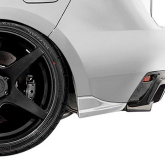 Duraflex® - C-Speed 2 Style Fiberglass Rear Bumper Add Ons (Unpainted)