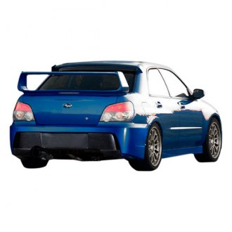 Duraflex® - Z-Speed Style Fiberglass Rear Bumper Cover (Unpainted)