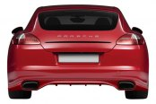 Duraflex® - Eros Version 3 Style Fiberglass Rear Bumper Cover (Unpainted)