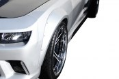 Duraflex® - GT Concept Style Wide Body Front Fender Flares (Unpainted)
