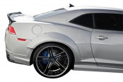 Duraflex® - GT Concept Style Wide Body Rear Fender Flares (Unpainted)