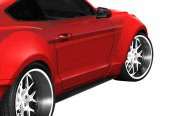 Duraflex® - Grid Style Wide Body Front Fender Flares