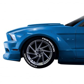 Duraflex® - Circuit Style 75mm Front Fender Flares (Unpainted)