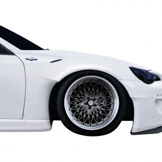 Duraflex® - GT500 V2 Style Front Fender Flares (Unpainted)