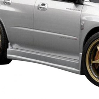 Duraflex® - C-Speed Style Fiberglass Side Skirts (Unpainted)