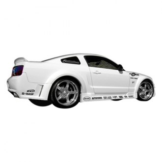 Duraflex® - Circuit Style Fiberglass Wide Body Side Skirts (Unpainted)