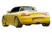 Duraflex® - T-Sport Style Fiberglass Wide Body Side Skirts (Unpainted)