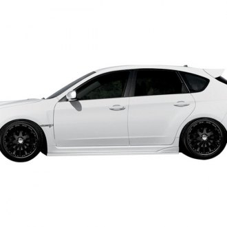 Duraflex® - C-Speed 2 Style Fiberglass Side Skirts (Unpainted)