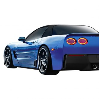 Duraflex® - Stingray Z Style Fiberglass Side Skirt Splitters (Unpainted)