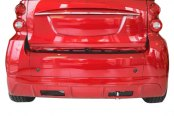 Duraflex® - FX Style Fiberglass Rear Lip Under Spoiler Air Dam (Unpainted)