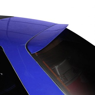 Duraflex® - Power Style Fiberglass Rear Roof Lip Spoiler (Unpainted)