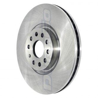 DuraGo BR901600 Rear Rotor Solid