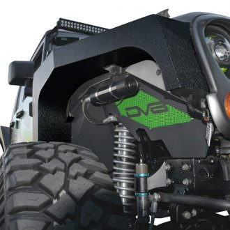 DV8 Offroad® - Armor Black Front and Rear Fender Flares