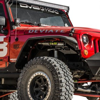 DV8 Offroad® - Black Front and Rear Fender Flares