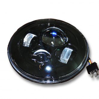 "DV8 Offroad® - 7"" Round Projector LED Headlights"
