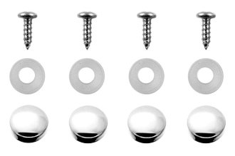 DWD® 900014 - Snap Cap Set, Chrome