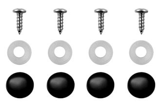 DWD® 900540 - Fasteners with Snap Caps, Black