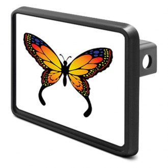 "DWD® - 1-1/4"" Hitch Cover with Butterfly Logo"