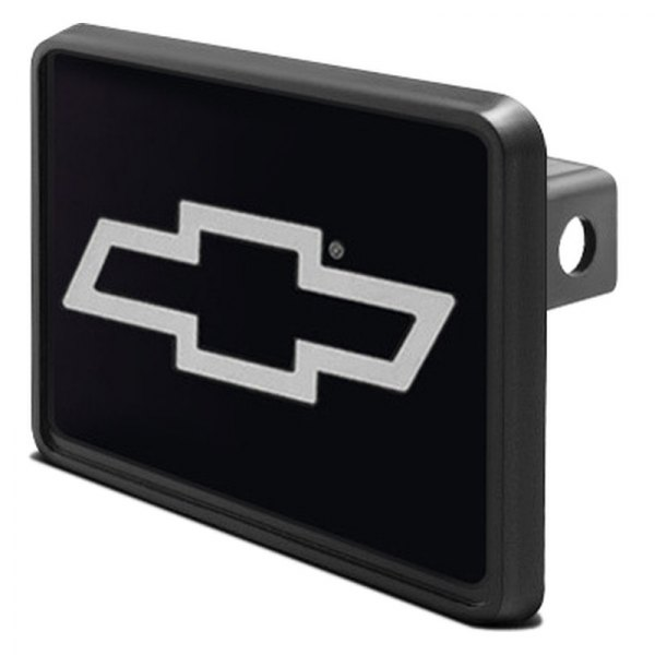 "DWD® - 1-1/4"" Hitch Cover with Chevy Silver Bowtie"