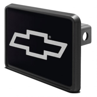 DWD® - 1-1/4 Hitch Cover with Chevy Silver Bowtie