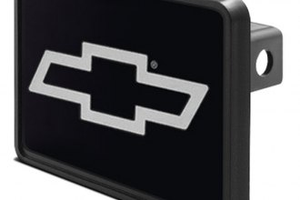 DWD® - Hitch Cover with Chevy Silver Bowtie