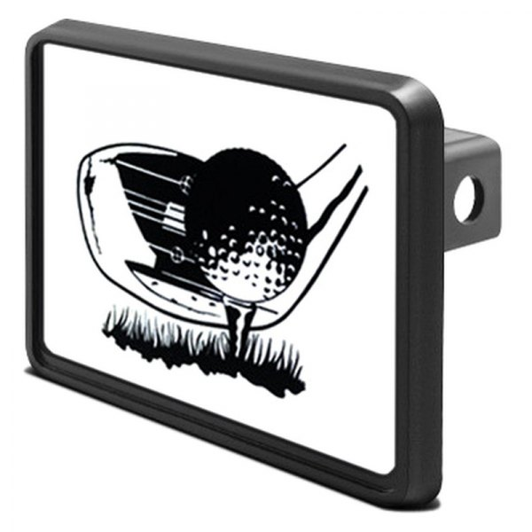 "DWD® - 1-1/4"" Hitch Cover with Golf"