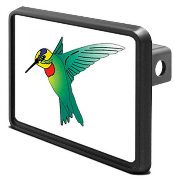 "DWD® - 1-1/4"" Hitch Cover with Humming Bird"