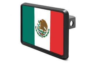 DWD® - Hitch Cover with Mexico Flag