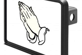 "DWD® - 1-1/4"" Hitch Cover with Praying Hands"