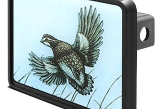 "DWD® - 1-1/4"" Hitch Cover with Quail"