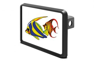 DWD® - Hitch Cover with Tropical Fish