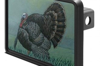 "DWD® - 1-1/4"" Hitch Cover with Turkey"