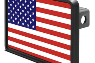 DWD® - Hitch Cover with USA Flag