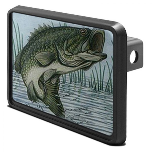 "DWD® - 1-1/4"" Hitch Cover with Bass"