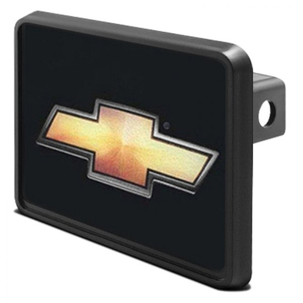 "DWD® - 1-1/4"" Hitch Cover with Chevy Gold Bowtie"