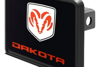 DWD® - Hitch Cover with Dakota Logo and Ram Emblem