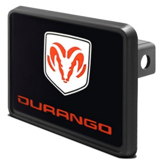 DWD® - Hitch Cover with Durango Logo and Ram Emblem