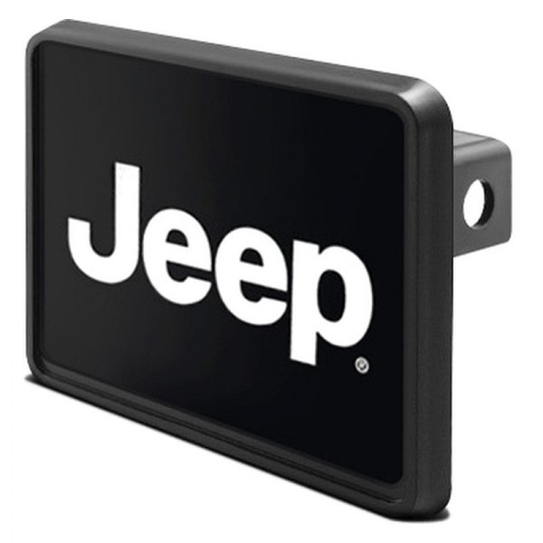 "DWD® - 1-1/4"" Hitch Cover with Jeep Logo"