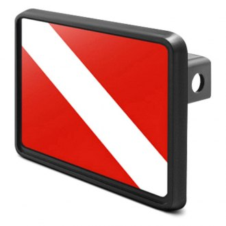 iPickimage® - Hitch Cover with Diver's Flag