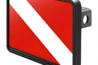 DWD® - Hitch Cover with Diver's Flag