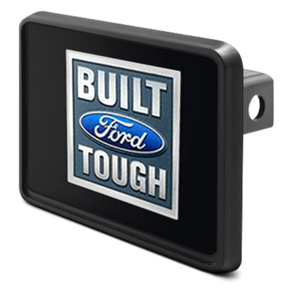 "DWD® - 1-1/4"" Hitch Cover with Built Ford Tough Logo"