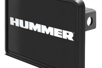 DWD® - Hitch Cover with Hummer Logo