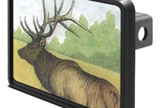 DWD® - Hitch Cover with Elk