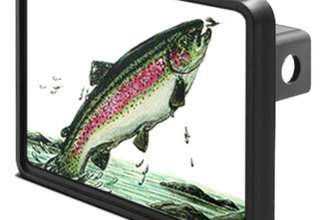 "DWD® - 1-1/4"" Hitch Cover with Trout"