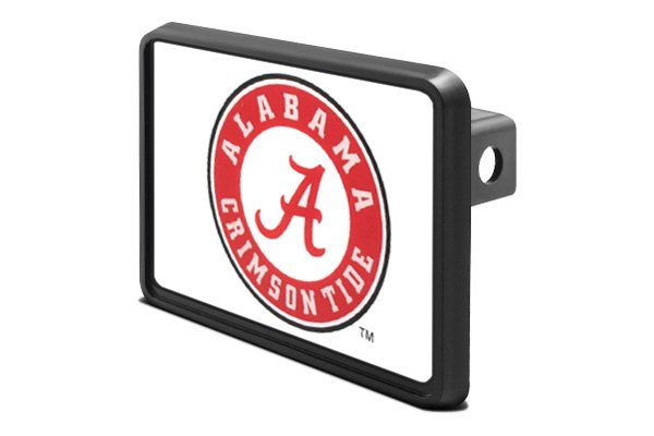 "DWD® - 1-1/4"" Hitch Cover Alabama Crimson Tide"