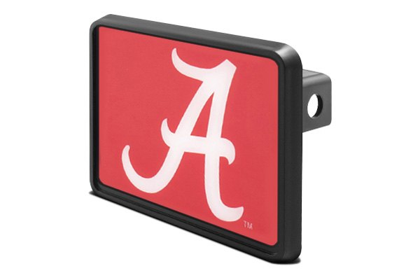 "DWD® - 1-1/4"" Hitch Cover with Alabama A Logo"
