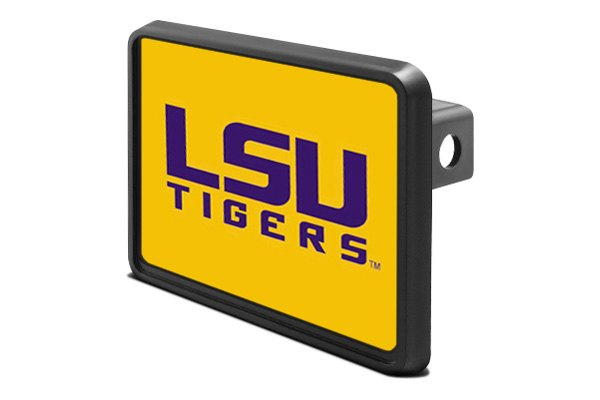 "DWD® - 1-1/4"" Hitch Cover with LSU Tigers Logo"