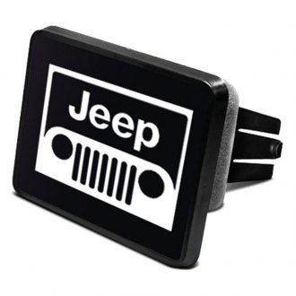 iPickimage® - Hitch Cover with Jeep Grill Logo