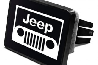 DWD® - Hitch Cover with Jeep Grill Logo